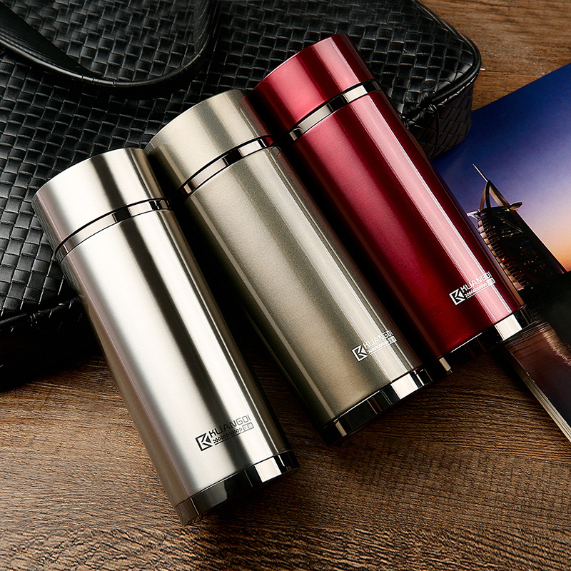 [FREE SHIPPING] Classic Fashion Stainless Steel Thermal Mug with 380ML 2