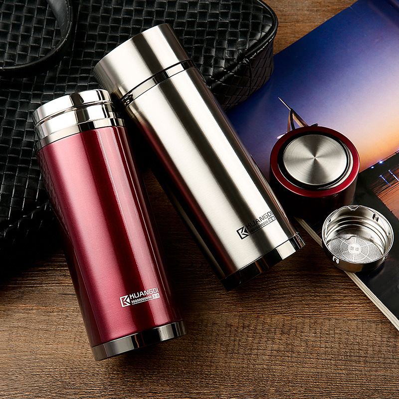 [FREE SHIPPING] Classic Fashion Stainless Steel Thermal Mug with 380ML 3
