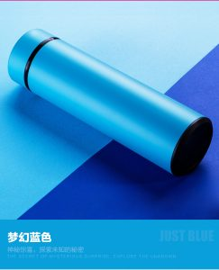 [FREE SHIPPING] Stainless Steel Thermal Mug with 450ML Blue