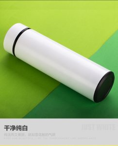 [FREE SHIPPING] Stainless Steel Thermal Mug with 450ML White