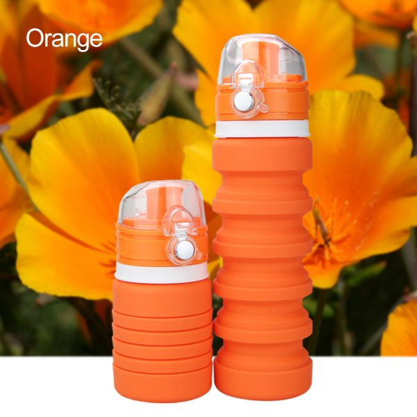 Silicone Foldable Sport Water Bottle 1
