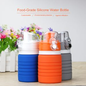 Silicone Foldable Sport Water Bottle 4