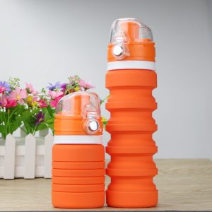 Silicone Foldable Sport Water Bottle 5