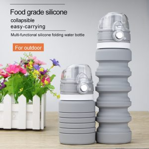 Silicone Foldable Sport Water Bottle 9