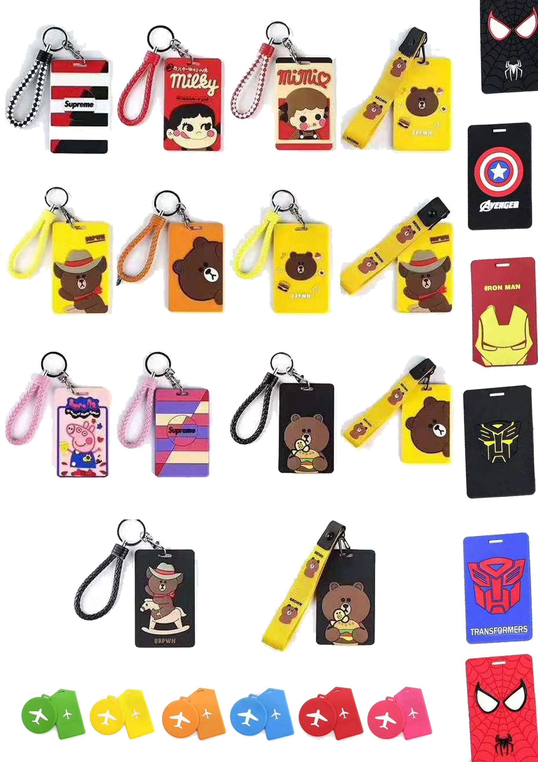Customised Travel Luggage Tag – Specialist in Rubber & Silicone Sample 2